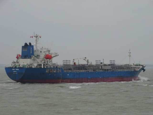 CHEM TAURUS, chemical tanker, shipping companies, global shipping
